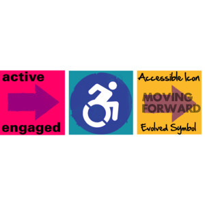 accessibility, moving forward, Accessible Icon Project, Accessible Icon, new symbol