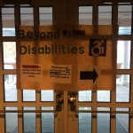 disability awareness library closing Leah Serao