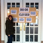 Library closing disability awareness Leah Serao