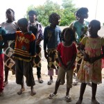 orphans, children in Africa