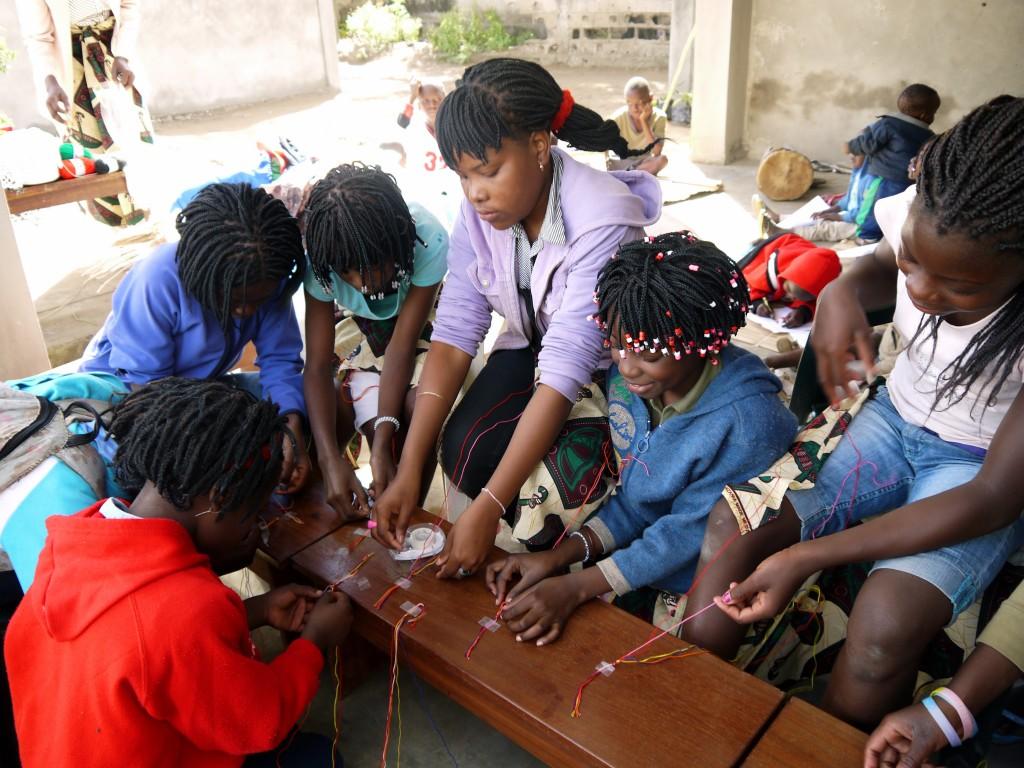 orphans, children in Africa
