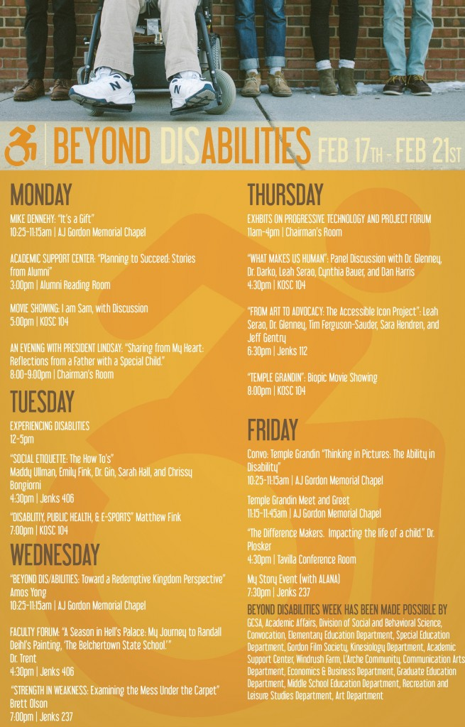 disability advocacy focus week college