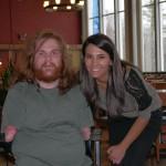 Matthew Fink Leah Serao disability advocate