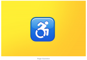 iPhone update, symbols, disabilities, technology