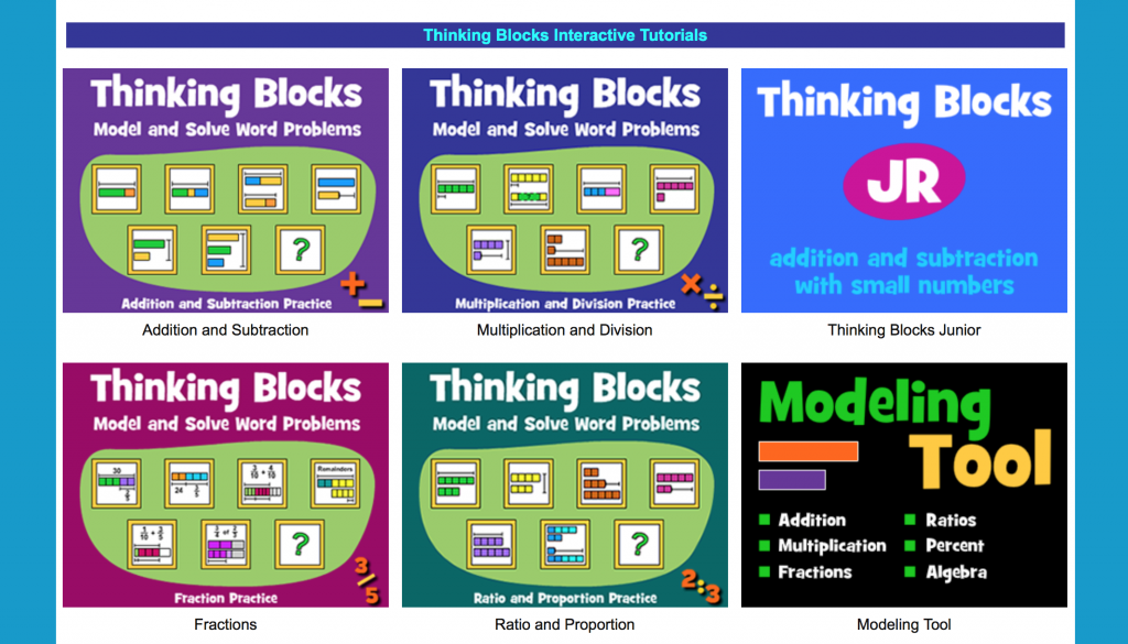math world problems, visual support, math manipulatives