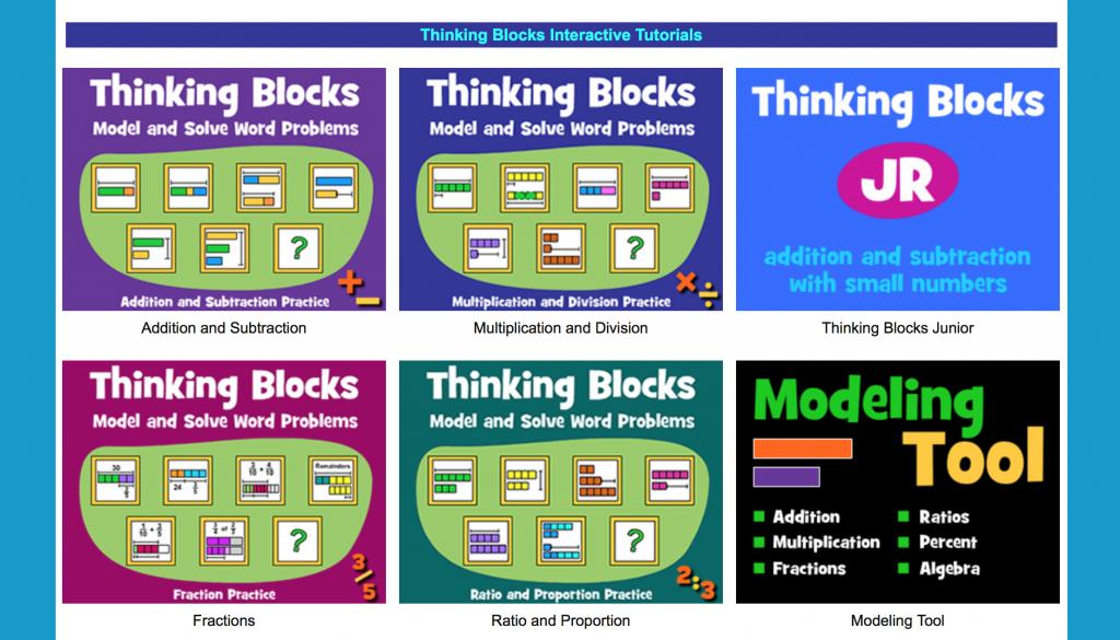 math world problems, visual support, math manipulatives